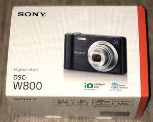 Sony Cyber-Shit DSC-W800 Digital Camera (Black) for Sale in El Cajon, CA