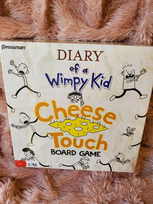 Diary of a Wimpy Kid Board Game Cheese Touch Like New for Sale in Loveland, OH