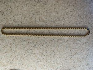 14k gold plated rope chain for Sale in Santa Ana, CA