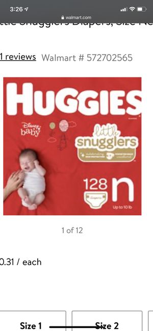 Newborn diapers for Sale in Dublin, OH