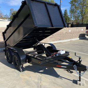 Brand New 5x10x3 Dump Trailer for Sale in Corona, CA