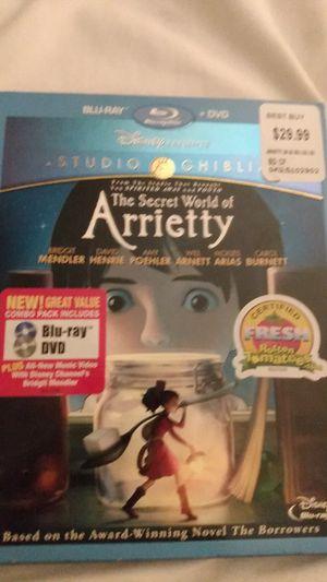 Disney's The Secret World of Arrietty for Sale in Miami, FL