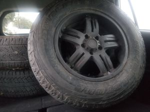 4 wheels + 1 spare, Jeep Wrangler for Sale in Long Beach, CA