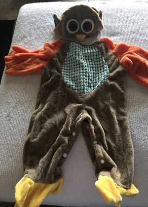 Owl costume infant size 6-12 months for Sale in Babson Park, FL