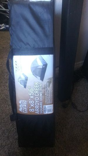 Camping tent brand spanking new for Sale in Lancaster, CA