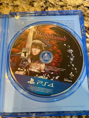 Bloodstained PS4 Like New for Sale in Wake Forest, NC