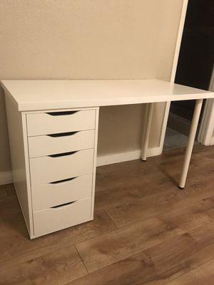 IKEA Desk - Alex Drawers for Sale in Hialeah, FL