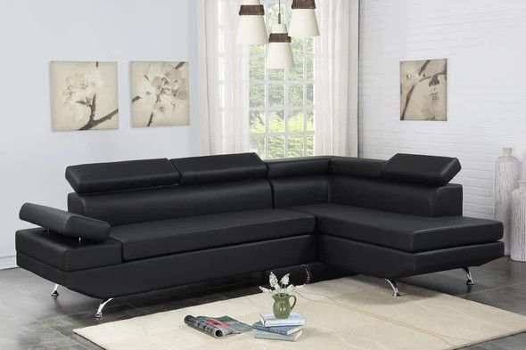 Black Sectional SAME DAY FREE DELIVERY
