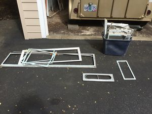 "OLD ""VINTAGE"" TRAVEL TRAILER WINDOW and VENT PIECES for Sale in Beaverton, OR"
