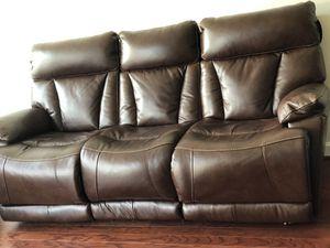 Brand new Genuine Leather Sofas for Sale in Herndon, VA