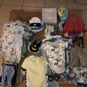 Baby Boy Clothes And Item Bundle for Sale in Pompano Beach, FL