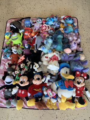 Lot Disney Collection Plush $100 OBO for Sale in Kyle, TX