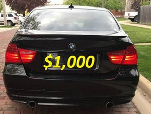 $1, OOO Urgent For sale 2OO9 BMW 3 SERIES 335i xDrive 3.0L I6 runs and drives excellently with a clean title for Sale in Fresno, CA