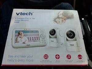 Vtech 2 camera Pan & Tilt video monitor for Sale in Palm Desert, CA