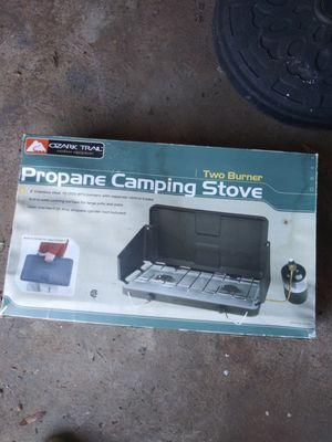 Propane camping stove new $30 for Sale in Charlotte, NC