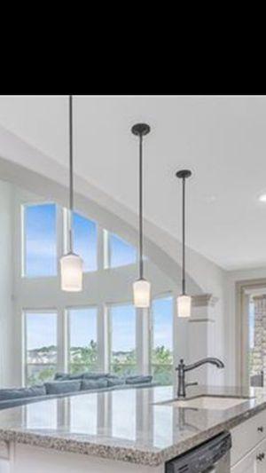 Kitchen Island hanging lights for Sale in VLG O THE HLS, TX
