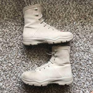 "Jordan boot "" Khaki "" size 8 for Sale in Lancaster, TX"