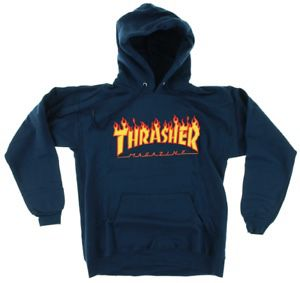 Navy Thrasher Hoodie Sz(m) for Sale in Portland, OR