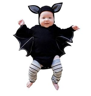 Last minute costume for baby! Cutest baby bat costume for Sale in Newton, MA