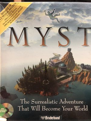 Vintage 1994 Broderbund Myst Computer Game for Sale in Knoxville, TN