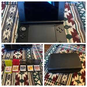 Nintendo DS 3D BLACK WITH CASE AND GAMES for Sale in Bakersfield, CA