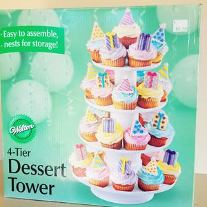 Wilton 4 Tier Dessert Tower for Sale in Chula Vista, CA