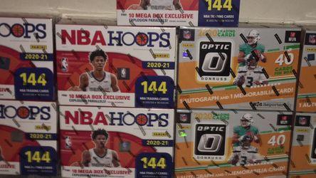 Optic Donruss Mega Box / NBA Hoops 2021 Mega *Read Description* for Sale in Cape Coral,  FL