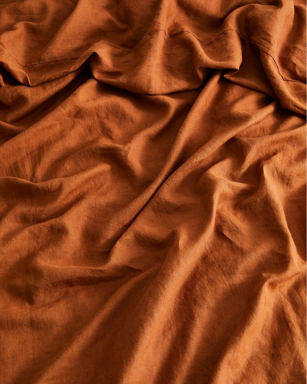 Bed Threads Queen size flax linen bedding set