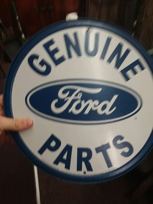 Genuine Ford Parts Sign for Sale in Sunbury, OH