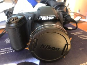 Nikon coolpix camera and case for Sale in Branford, CT