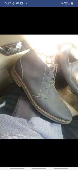 Arizona grey mens dress boots size 11 for Sale in Auburndale, FL