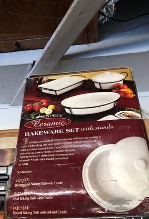 Ceramic Bakeware Set for Sale in Hacienda Heights, CA