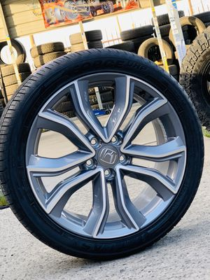 """19"""" new Honda rims and tires for sale civic accord crv for Sale in Modesto, CA"""