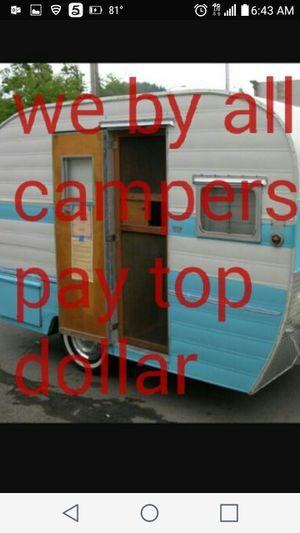 camping trailers compro rv trailers for Sale in Miami Lakes, FL