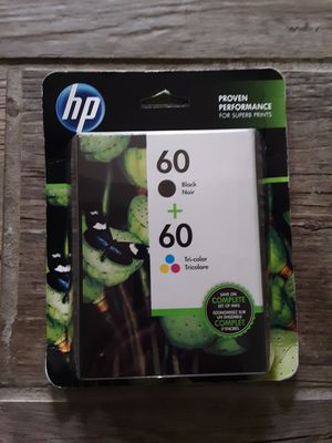 Hp Printer Ink 60 for Sale in Bellingham, WA
