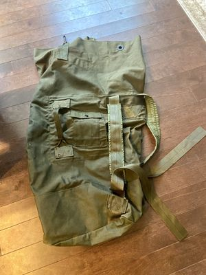 Camping/mountaineering/hunting duffel backpack for Sale in Redmond, WA