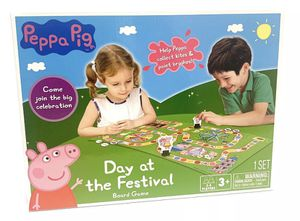 Peppa Pig™ Day at the Festival Board Game NEW for Sale in Bolingbrook, IL