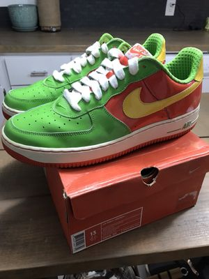 Nike Air Force 1 citrus for Sale in Orlando, FL