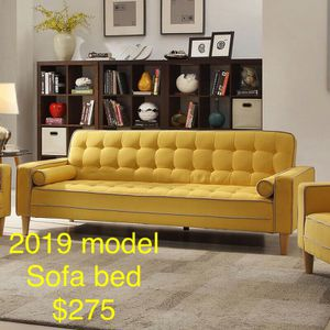 Brand new 2019 model Sofa/SofaBed /Futon bed for only $275 ..Gr for Sale in New York, NY