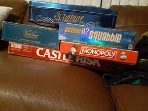Board games. Perfect for being in quarantine for Sale in West Richland, WA