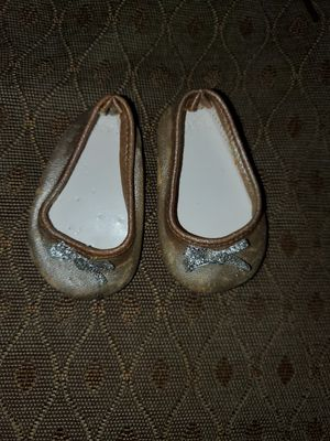 American Girl Doll Gold Tone Shoes for Sale in Grand Prairie, TX