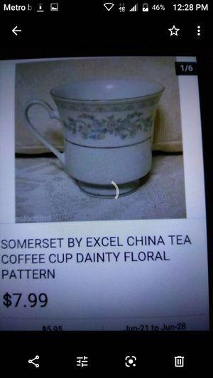 Vintage China platinum Somerset for Sale in Fresno, CA