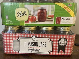 NEW Pint Mason Jars for Sale in Fairfax,  VA