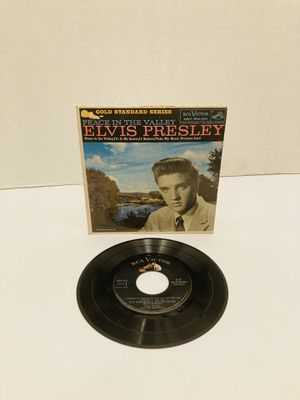 "Rare Elvis Presley, Peace In The Valley, RCA Victor EPA 5121,1959 7"" 45 RPM EP Gospel for Sale in Spring Hill, FL"