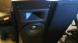 Klipsch tower speakers true power quality sound for Sale in Portland, OR