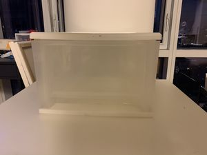 Storage bin plastic 1 drawer for Sale in Brooklyn, NY