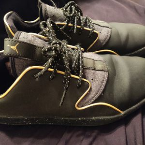 Jordan Black & Gold shoe for Sale in Denton, TX