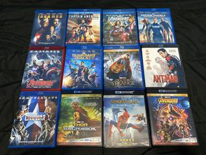 Marvel Cinematic Universe Blu-ray Collection for Sale in Milpitas, CA