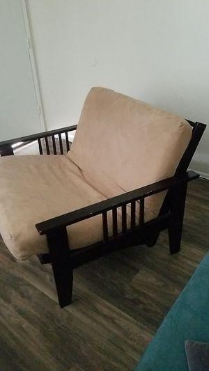Futon chair into bed for Sale in El Cajon, CA