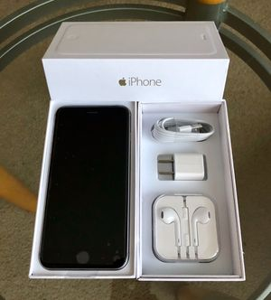 iPhone 6 Factory Unlock 128GB available in black silver and gold colors for Sale in Glenview, IL